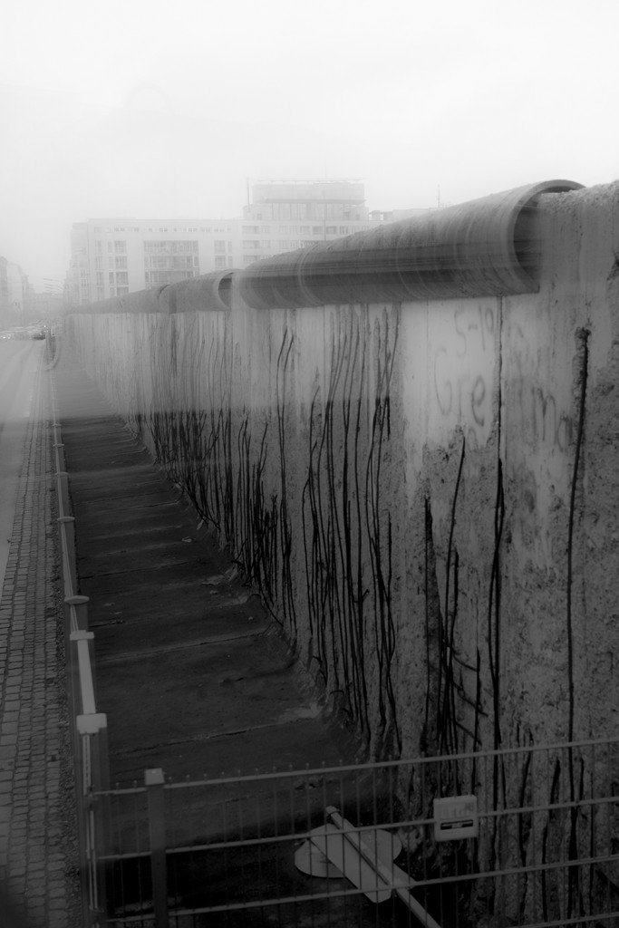 Saturday, January 17th, 2015 in Berlin - Number 018 of 366mm Remains of the Berlin wall, seen during a tourist tour