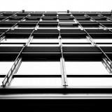 Thursday, February 19th, 2015 in Frankfurt - City - Number 051 of 366mm Window facade of an office building in Frankfurt city