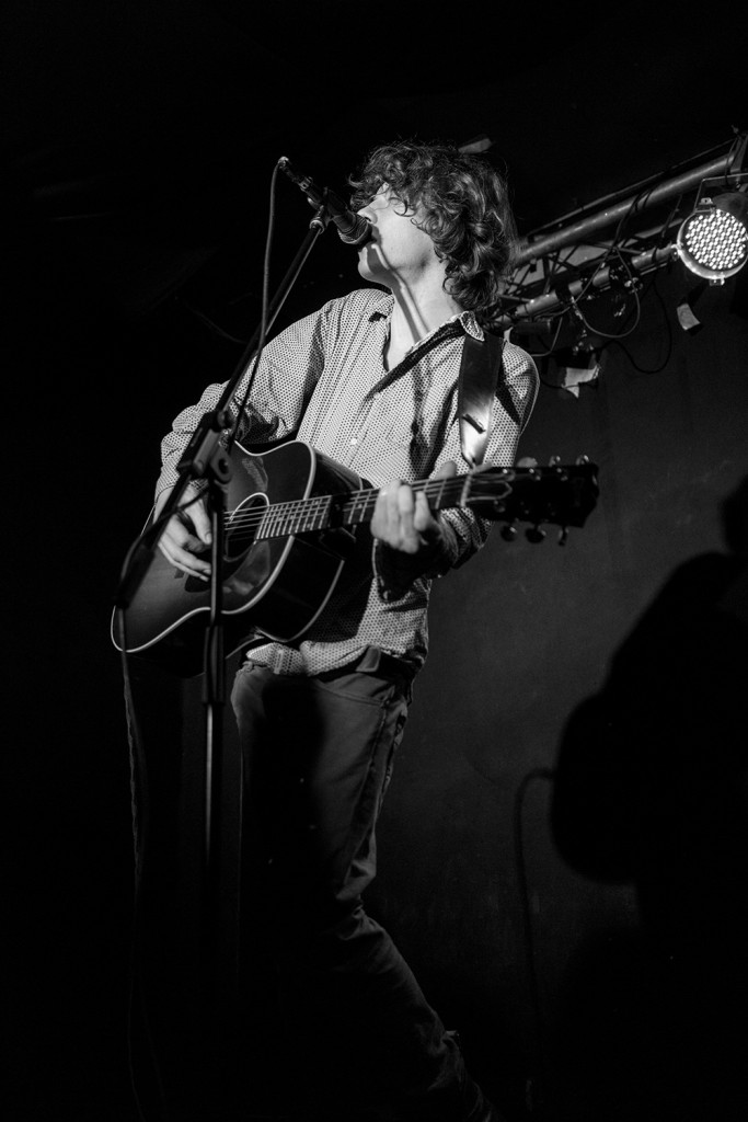"Thursday, February 26th, 2015 in Frankfurt - Number 058 of 366mm Max Prosa the amazing singer/songwriter performing at the venue: ""Ponyhof"""