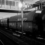 Thursday, March 5th, 2015 in Regensburg - Number 065 of 366mm Waggon train at Regensburg train station waiting to be picked up