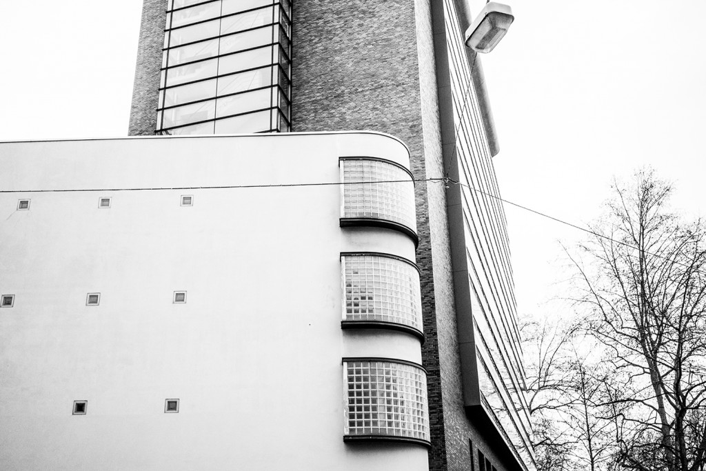 "Monday, March 23rd, 2015 in Frankfurt - City - Number 083 of 366mm Urban building on ""Eschersheimer Landstr."""