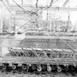 Saturday, April 4th, 2015 in Frankfurt - Number 095 of 366mm Shopping cart to support the weekend shopping