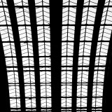 Monday, April  13th, 2015 in Frankfurt -  Number 104 of 366mm View onto the roof of the train station