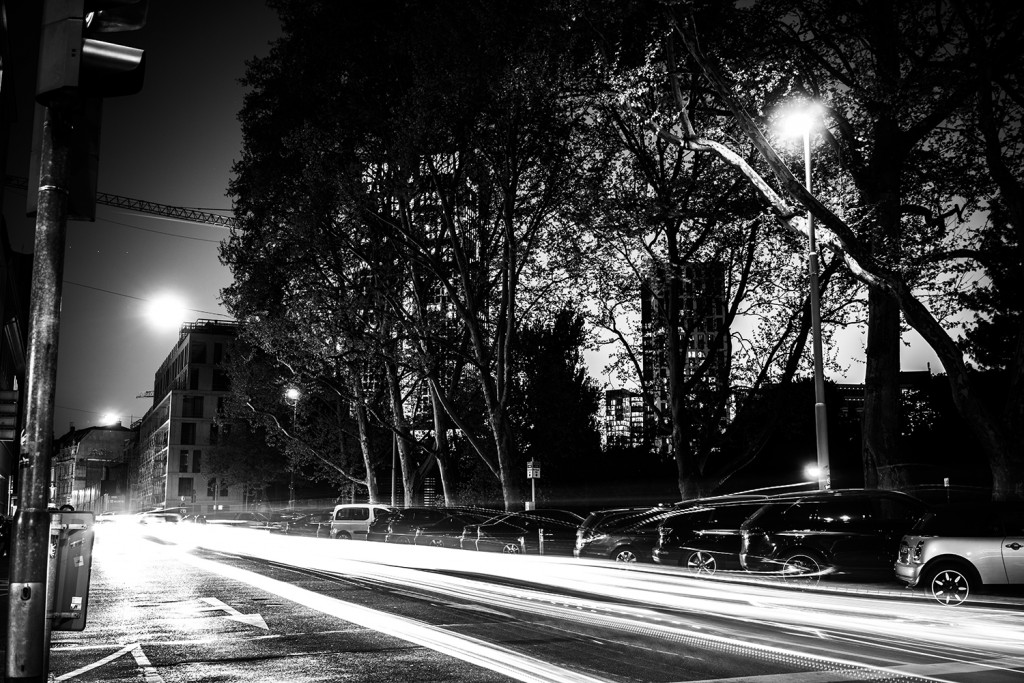 Thursday, April 23rd, 2015 in Frankfurt - City - Number 114 of 366mm Eight seconds exposure time makes the speed of light visible