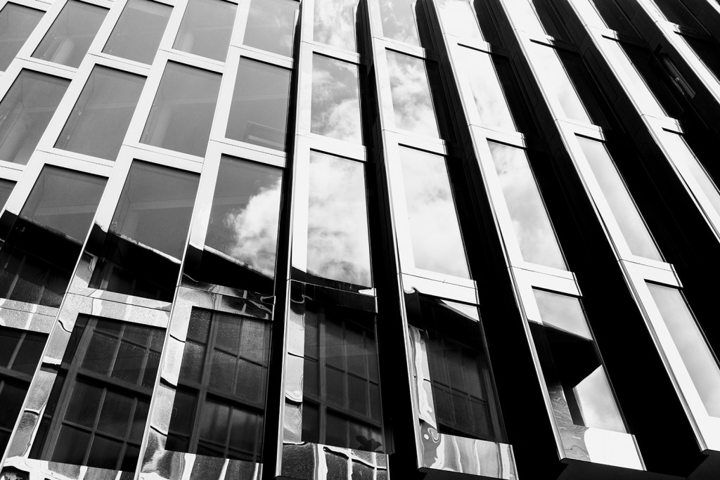 Wednesday, May 20th, 2015 in Frankfurt - Number 141 of 366mm Window facade of an office building in Frankfurt City near Hauptwache