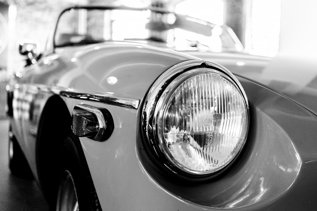 "Thursday, May 21st, 2015 in Frankfurt - Number 142 of 366mm One of my favorite cars at the 1st Floor in the ""Klassikstadt"""
