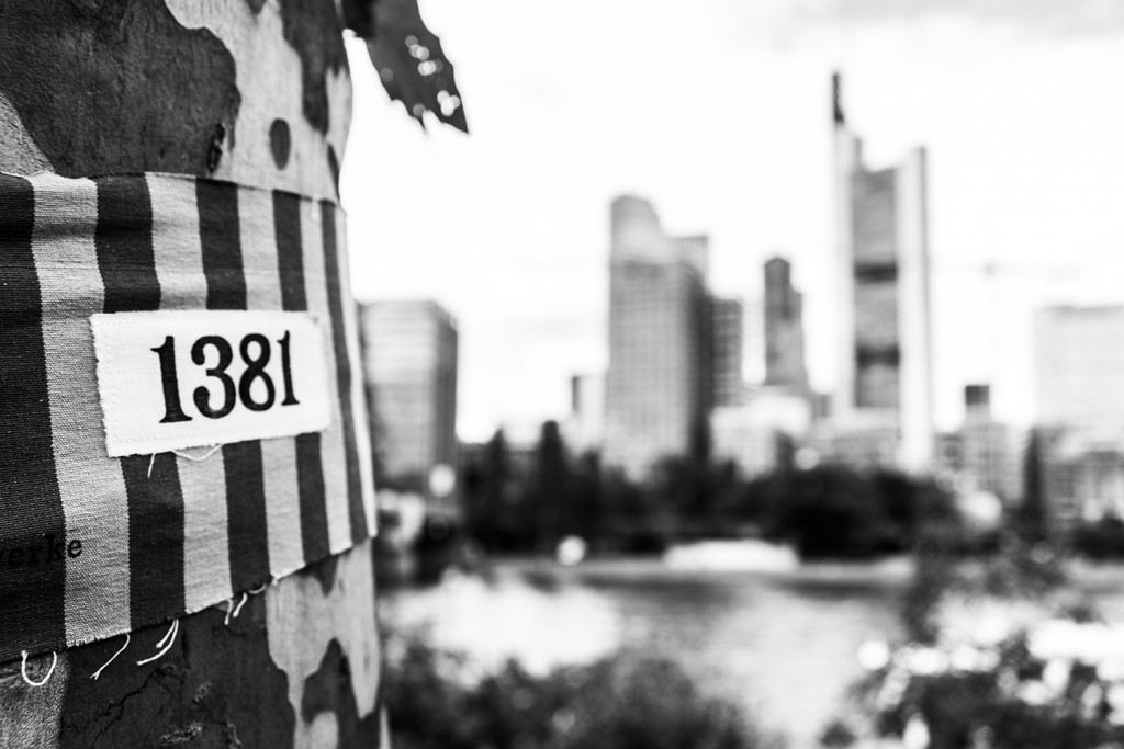 """Tuesday, May 26th,  2015 in Frankfurt - City - Number 147 of 366mm 366mm meets """"Mitten unter Uns""""; amazing project from the Frankfurt-based  artist """"Stefanie Grohs"""""""