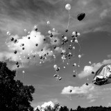 Saturday, June 13th, 2015 in Kelkheim - Number 165 of 366mm Balloons and watch them being moved by the wind at our wedding