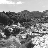 Tuesday, June 23rd, 2015 in Oliena - Number 175 of 366mm Broken historical bridge on the way from Oliena to Nuoro