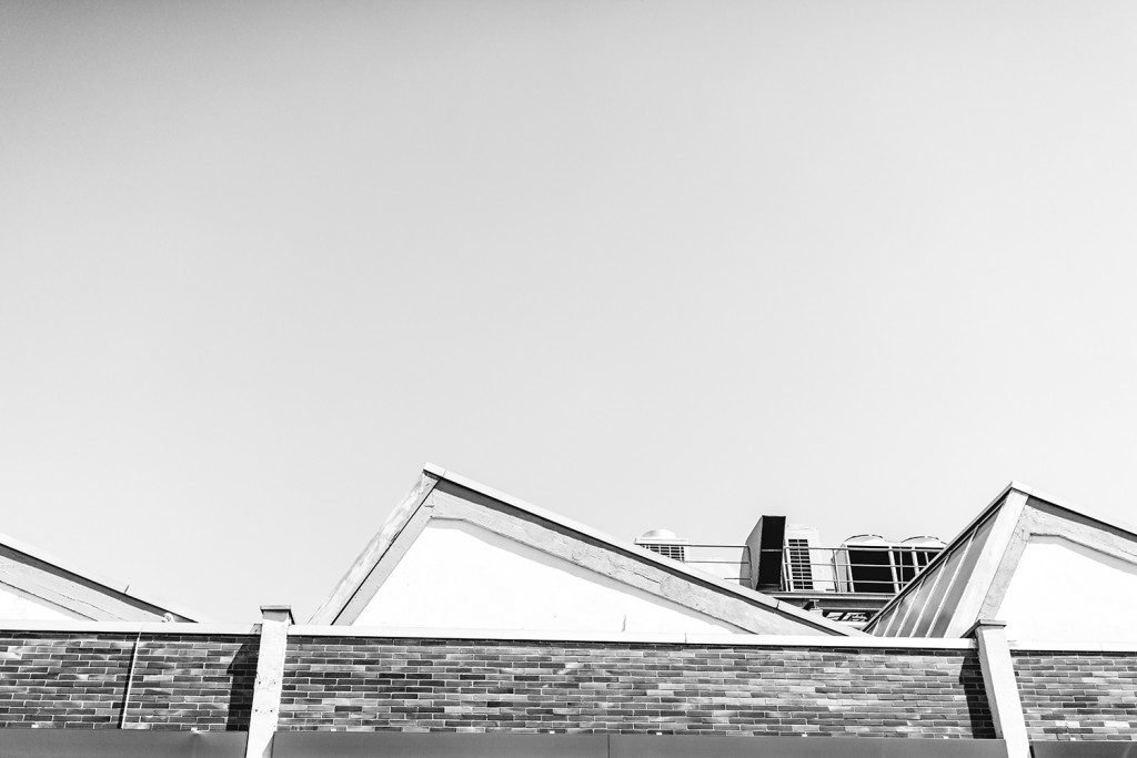 "Saturday, July 11th, 2015 in Frankfurt - Number 193 of 366mm Rooftops in ""Hanauer Landstraße"""
