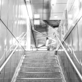 Friday, August 14th, 2015 in Frankfurt - Number 227 of 366mm Staircase in a subway station in Frankfurt