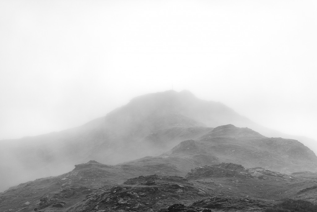 "Sunday, August 16th, 2015 in Montafon - Number 229 of 366mm Misty mountains on the way to ""Tübinger Hütte"""