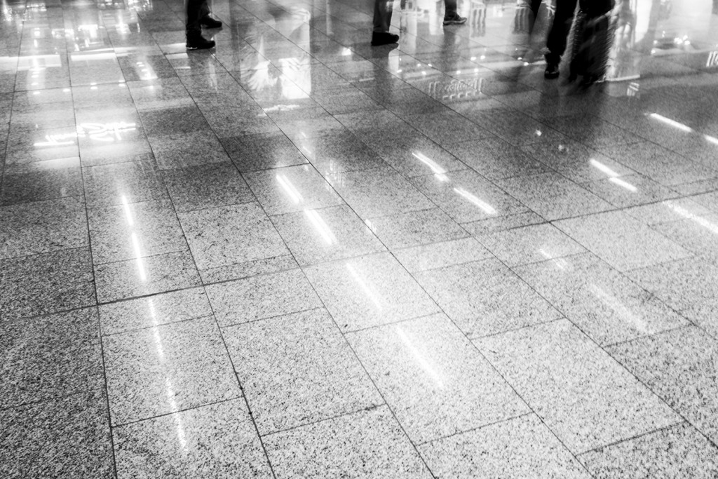 Tuesday, September 8th, 2015 in Frankfurt - Number 252 of 366mm Ground reflection at Frankfurt Airport