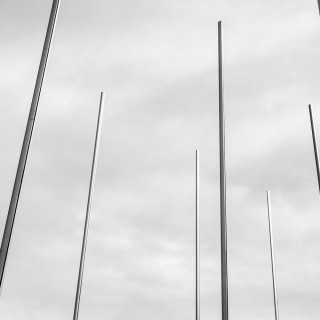 Wednesday, November 25th, 2015 in Stuttgart - Number 330 of 366mm Flagpoles at the fair Stuttgart