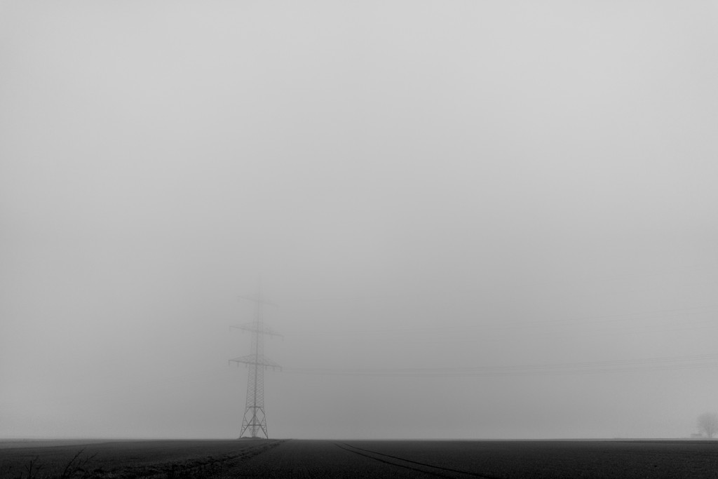 Thursday, December 10th, 2015 in Oberursel - Number 345 of 366mm Misty field on the way to Oberursel