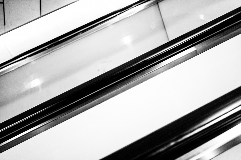 "Tuesday, December 29nd, 2015 in Frankfurt – Number 364 of 366mm Escalator of the Underground station ""Taunusanlage"""